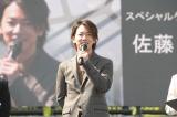 熊本城の復旧記念式典にサプライズ登場した佐藤健