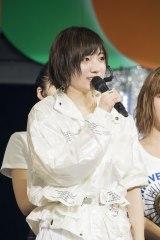 「最初で最後のセンターを任せてもらえて本当にありがたいです」と太田夢莉(C)NMB48