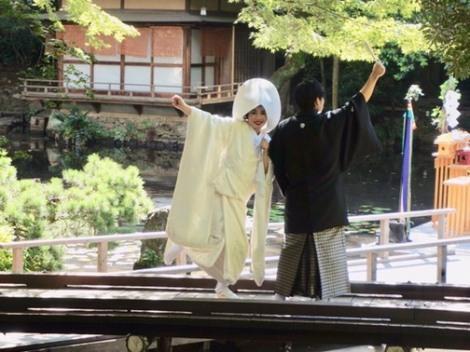 サムネイル 平野ノラがインスタグラムで結婚式を行ったことを報告 (写真はインスタグラムより、事務所許諾済み)