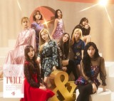 TWICE日本2ndアルバム『&TWICE』のジャケット写真公開(写真は初回限定盤A)