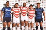 (左から)ラファエレ ティモシー選手、堀江翔太選手、リーチ マイケル選手、福岡堅樹選手、ヴァンピー・ファンデルヴァルト選手 (C)ORICON NewS inc.