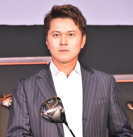 『ゼクシオ』新商品記者発表会に出席した大堀裕次郎プロ (C)ORICON NewS inc.