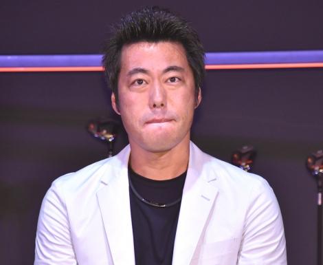 『ゼクシオ』新商品記者発表会に出席した上原浩治氏 (C)ORICON NewS inc.
