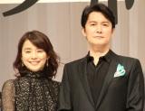 (左から)石田ゆり子、福山雅治 (C)ORICON NewS inc.