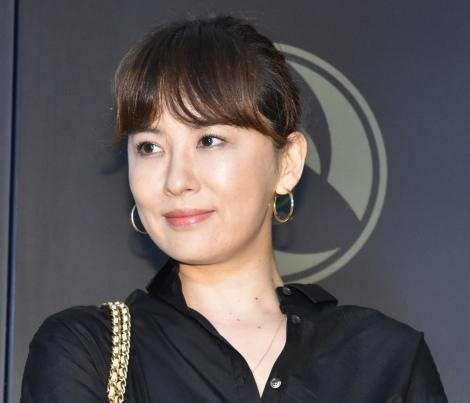 『COACH×MICHAEL B. JORDAN』コレクション発表会に登壇した鈴木砂羽 (C)ORICON NewS inc.
