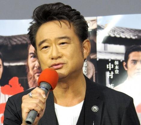 NHK・BS時代劇『赤ひげ2』の試写会に出席した船越英一郎 (C)ORICON NewS inc.