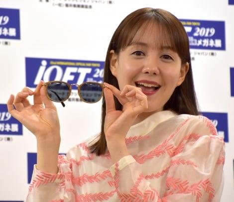 『第32回 日本 メガネ ベストドレッサー賞』の表彰式に出席したトリンドル玲奈 (C)ORICON NewS inc.