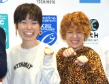『サステナブル・シーフード・ウィーク2019』のオープニングイベントに出席した誠子、渚 (C)ORICON NewS inc.