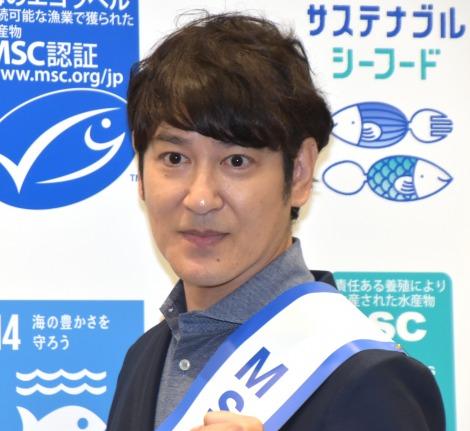 『サステナブル・シーフード・ウィーク2019』のオープニングイベントに出席した田中直樹 (C)ORICON NewS inc.