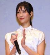 TBS系連続ドラマ『4分間のマリーゴールド』キャスト舞台あいさつに登場した (C)ORICON NewS inc.