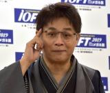 『第32回 日本 メガネ ベストドレッサー賞』の表彰式に出席した立川志らく (C)ORICON NewS inc.