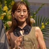 『第32回 日本 メガネ ベストドレッサー賞』の表彰式に出席した田中みな実 (C)ORICON NewS inc.