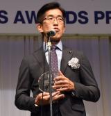 『第32回 日本 メガネ ベストドレッサー賞』の表彰式に出席した岸博幸 (C)ORICON NewS inc.