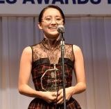 『第32回 日本 メガネ ベストドレッサー賞』の表彰式に出席した岡田結実 (C)ORICON NewS inc.