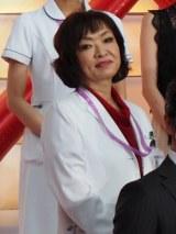 『ドクターX〜外科医・大門未知子〜』の制作発表会に出席した清水ミチコ (C)ORICON NewS inc.