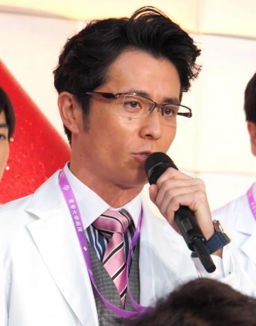 『ドクターX〜外科医・大門未知子〜』の制作発表会に出席した藤森慎吾 (C)ORICON NewS inc.