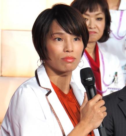 『ドクターX〜外科医・大門未知子〜』の制作発表会に出席した松本薫 (C)ORICON NewS inc.