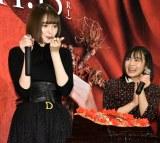 誕生日ケーキを食べる玉城ティナ (C)ORICON NewS inc.