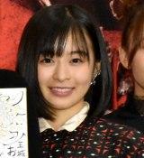 映画『地獄少女』の完成披露舞台あいさつに登壇した森七菜 (C)ORICON NewS inc.