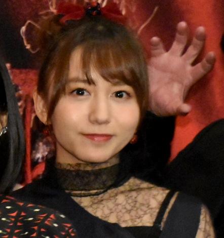 映画『地獄少女』の完成披露舞台あいさつに登壇した大場美奈 (C)ORICON NewS inc.