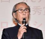 """撮影規制に""""怒りスピーチ""""をした木村大作監督 (C)ORICON NewS inc."""