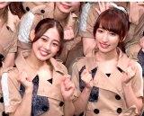 2ndシングル「幸せのありかはどちらですか/わたし革命」リリースイベントを開催した(左から)松井まり、山木梨沙 (C)ORICON NewS inc.