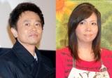 (左から)ダウンタウン浜田雅功、小川菜摘(C)ORICON NewS inc.
