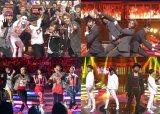 TBS音楽特番『UTAGE!』より「秋のメドレー祭り」第2弾「ダンスメドレー」と「DJ師匠メドレー」(C)TBS