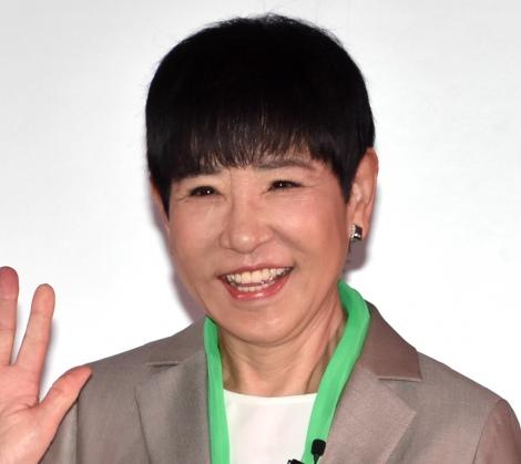 話題不足の芸能界に嘆した和田アキ子=『VISION 100』記者発表会 (C)ORICON NewS inc.