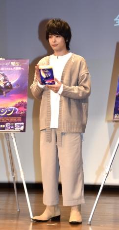 映画『アラジン』のMovieNEX発売記念イベントに登場した中村倫也 (C)ORICON NewS inc.