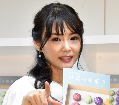 『おうちで作れる 野菜の和菓子』出版記念発表会に出席した勝木友香氏 (C)ORICON NewS inc.