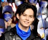 映画『フッド:ザ・ビギニング』のジャパンプレミアに登壇した超特急のカイ (C)ORICON NewS inc.
