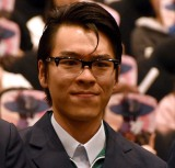 映画『超・少年探偵団NEO-Beginning-』完成披露上映会に登壇した長村航希 (C)ORICON NewS inc.