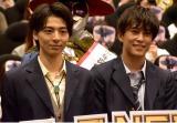 映画『超・少年探偵団NEO-Beginning-』完成披露上映会に登壇した(左から)高杉真宙、佐野岳 (C)ORICON NewS inc.
