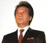 映画『最高の人生の見つけ方』公開初日舞台あいさつに登場した前川清 (C)ORICON NewS inc.