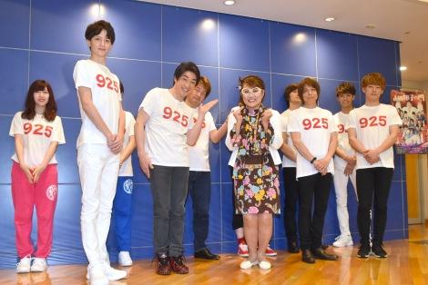 芸能生活40周年記念公演『山田邦子の門』上演発表会見の模様 (C)ORICON NewS inc.