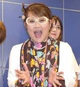 芸能生活40周年記念公演『山田邦子の門』上演発表会見に出席した山田邦子 (C)ORICON NewS inc.