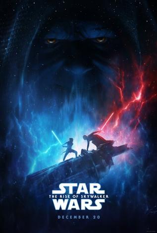 『スター・ウォーズ/スカイウォーカーの夜明け』(12月20日公開)US版ポスター(C)201 9 Lucasfilm Ltd.