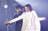 「自由の彼方」を披露する(左から)和田まあや、中田花奈=『乃木坂46 アンダーライブ2019』より