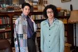 金曜ナイトドラマ『時効警察はじめました』第2話(10月18日放送)のメインゲストは向井理(左)。オダギリジョーと4年ぶり共演(C)テレビ朝日