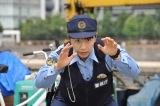 10月13日放送、『警視庁・捜査一課長 スペシャル』巡査役で浜口京子が出演。初挑戦の刑事ドラマで「気合いだ!」(C)テレビ朝日