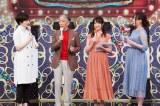 10月13日放送、『THEカラオケ★バトル』産休の繁田美貴アナウンサーに代わって新人・森香澄アナウンサーが登場(C)テレビ東京