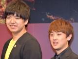 『M-1グランプリ2019』開催会見に出席したからし蓮根 (C)ORICON NewS inc.