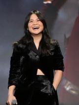 8月に開催された『D23 Expo 2019』で行われた『スター・ウォーズ/スカイウォーカーの夜明け』のプレゼンテーションに登壇したケリー・マリー・トラン(C)2019 Getty Images