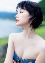 『週刊プレイボーイ』43号に登場した金城茉奈(C)矢西誠二/週刊プレイボーイ