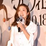 第2子出産後初公の場に登場した上戸彩 (C)ORICON NewS inc.