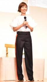 『冷凍食品の日』PRイベントに出席した渡辺満里奈 (C)ORICON NewS inc.