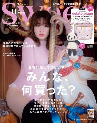 サムネイル 小嶋陽菜が表紙を飾った『sweet』11月号表紙(宝島社)