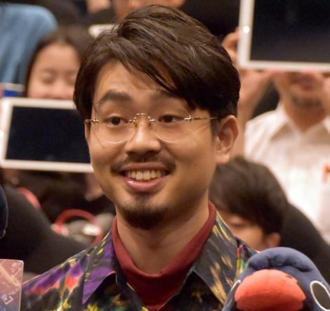 スピンオフアニメ『ANOTHER WORLD』劇場上映会後トークショーに出席したOKAMOTO'S・ハマ・オカモト (C)ORICON NewS inc.