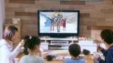 『ZIP!』スタジオの映像を放送中のドラマ映像に合成(C)日本テレビ